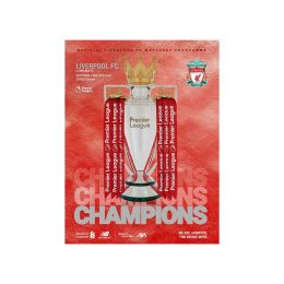 LFC UNISEX MATCHDAY PROGRAMME 26 - L.F.C VS. CHELSEA - 22.07.2020 ACCESSORIES