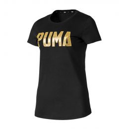 PUMA WOMEN ROUND NECK ATHLETICS