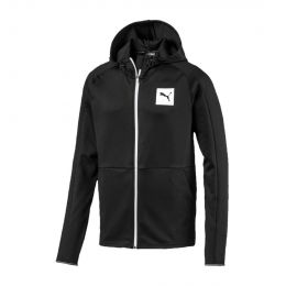 PUMA MEN JACKET TEC SPORTS FZ HOODY (SMU)