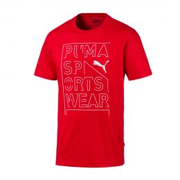 PUMA MEN ROUND NECK REPEAT BRAND (SMU)