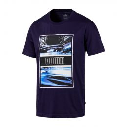 PUMA MEN LIGHT MOTION PHOTO ROUND NECK