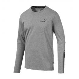 PUMA MEN AMPLIFIED ROUND NECK LONGSLEEVE