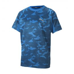 PUMA JUNIOR BOY ACTIVE SPORTS POLY TEE JC
