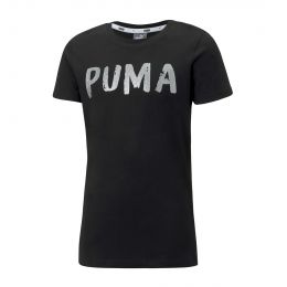 PUMA JUNIOR GIRL ROUND NECK ALPHA