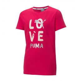 PUMA JUNIOR GIRL ROUND NECK LPHA