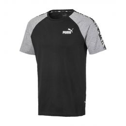 PUMA MEN ROUND NECK AMPLIFIED RAGLAN