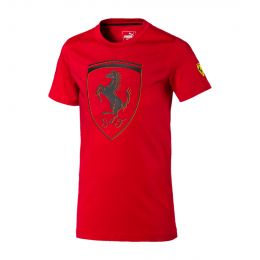 PUMA JUNIOR BOY ROUND NECK SF KIDS BIG SHIELD