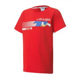 PUMA JUNIOR BOY ROUND NECK PUMA X SEGA
