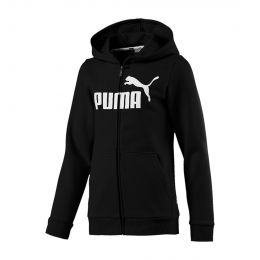 PUMA JUNIOR BOY ESSENTIALS HOODY JACKET