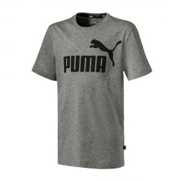 PUMA JUNIOR BOY ROUND NECK ESS LOGO