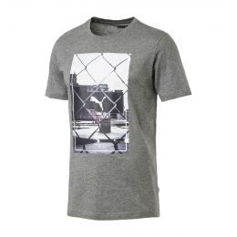 PUMA MEN PHOTOPRINT ROUND NECK