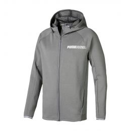 PUMA MEN TEC SPORTS HOODY JACKET