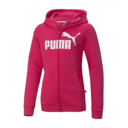 PUMA JUNIOR GIRL JACKET ESSENTIALS HOODED