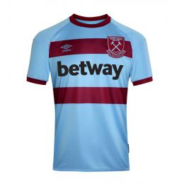 UMBRO MEN WEST HAM UTD 20/21 AWAY JERSEY JC REPLICA NAVY