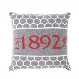 LFC UNISEX GREY CHENILLE CUSHION