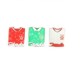 LFC UNISEX RETRO BADGE TRIPLE PACK