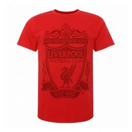 LFC JUNIOR BOY JUNIOR RED CREST TEE