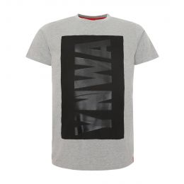 LFC JUNIOR BOY JUNIOR RAISED YNWA GREY MARL TEE