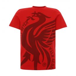 LFC JUNIOR BOY JUNIOR LIVERBIRD YNWA RED TEE