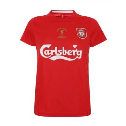 LFC WOMEN RETRO 2005 ISTANBUL ROUND NECK RED