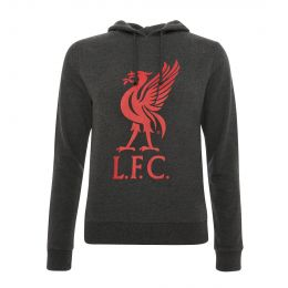 LFC WOMEN LIVERBIRD GREY HOODY JACKET