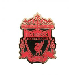 LFC UNISEX RED & GOLD CREST MAGNET
