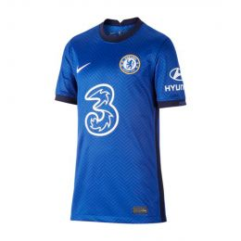 NIKE KIDS CHELSEA FC 2020/21 STADIUM HOME JC REPLICA BLUE