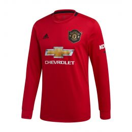 ADIDAS MEN JC REPLICA MUFC HOME LONG SLEEVE