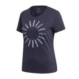 ADIDAS WOMEN CIRCLED 1219 ROUND NECK