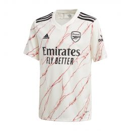 ADIDAS KIDS ARSENAL 20/21 AWAY JC REPLICA WHITE