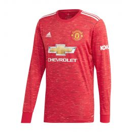 ADIDAS MEN MANCHESTER UNITED 20/21 HOME JC REPLICA RED