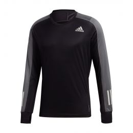 ADIDAS MEN OWN THE RUN LONG SLEEVE TEE ROUND NECK LONGSLEEVE