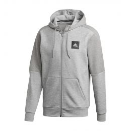 ADIDAS MEN MUST HAVES FULL-ZIP STADIUM HOODIE JACKET