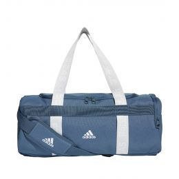 ADIDAS MEN 4ATHLTS DUFFEL BAG SMALL TEAM BAG BLUE