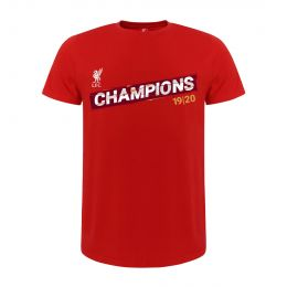 LFC KIDS PREMIER LEAGUE CHAMPIONS 19-20 RED ROUND NECK