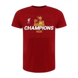 LFC KIDS EPL CHAMPIONS 19-20 RED ROUND NECK