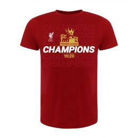 LFC MEN EPL CHAMPIONS 19-20 RED ROUND NECK
