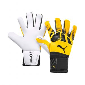 PUMA MEN ONE GRIP 1 HYBRID PRO GLOVE FOOTBALL YELLOW