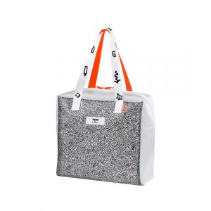 PUMA X MR DOODLE SHOPPER TRANSPARENT WOMEN BAG
