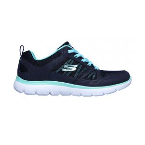 SKECHERS WOMEN SUMMITS LIFESTYLE NAVY 12997