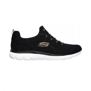 SKECHERS WOMEN SUMMITS LIFESTYLE BLACK