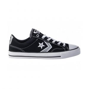 CONVERSE UNISEX STAR PLAYER OX BLACK LIFESTYLE