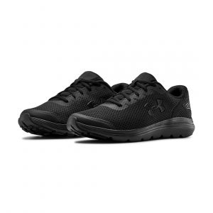UNDER ARMOUR MEN SURGE 2 RUNNING BLACK