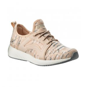 SKECHERS WOMEN BOBS SQUAD LIFESTYLE PINK