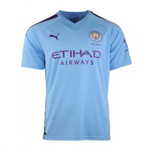 PUMA JR BOY JC REPLICA MAN CITY FC HOME SS19