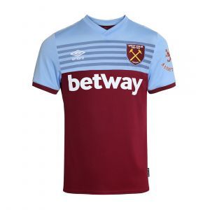UMBRO MEN MENS WEST HAM UNITED FC HOME SHIRT 19/20