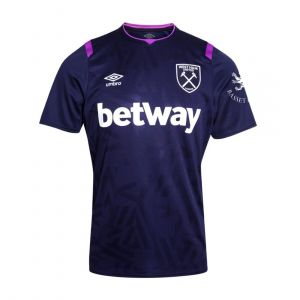 UMBRO MEN MENS WEST HAM UNITED FC 3RD SHIRT 19/20