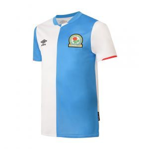 UMBRO MEN MENS BLACKBURN ROVERS FC HOME SHIRT 19/20 (NO SPONSOR LOGO)