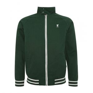 LFC MEN MENS GREEN HARRINGTON JACKET