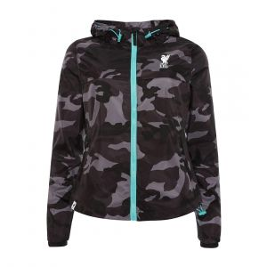 LFC WOMEN WOMENS BLACK CAMO JACKET